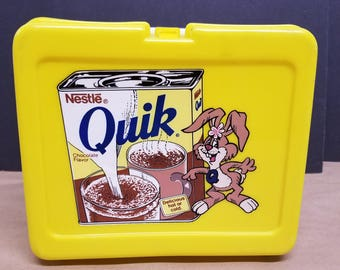Vintage Nestle Quik Lunchbox and Thermos