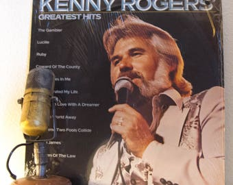 """ON SALE Kenny Rogers Vinyl Record Album 1970s Country Western Pop Hits """"Greatest Hits""""(1980 Liberty Records w/""""The Gambler"""",""""Lady"""",""""Reuben J"""