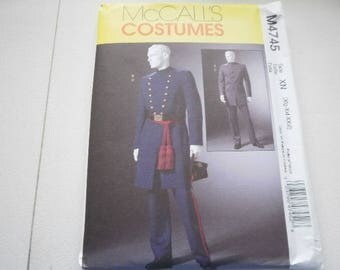 Pattern Costume Men Civil War Uniform Sizes XLG to XXXL