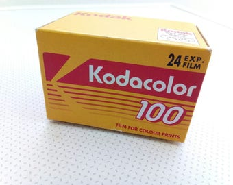 Expired Kodacolor 100 ISO film . 24 exposures