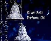 15% off SILVER BELLS Perfume Oil: Rum, Cinnamon, Nutmeg, Vanilla Bean, Cream, Sugarplum, Mint - Christmas Perfume - Holiday Fragrance