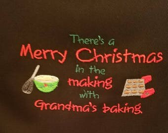 Grandma's Apron - Grandma's Baking