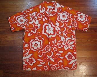 vintage Kawika of Hawaii aloha shirt