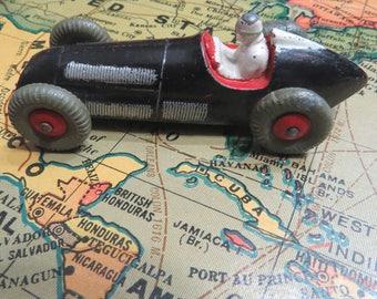 Vintage Dinky Alfa Romeo Race Car Toy Scarce Black 23F England, Meccano, Ltd.