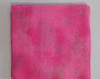 On Sale Fabric Squares Charm Pack Pink Squares 5 X 5 Cotton Fabric Squares Craft Supplies Sewing Supplies Quilting Supplies