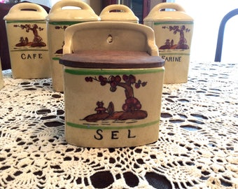 French Vintage Salt Box