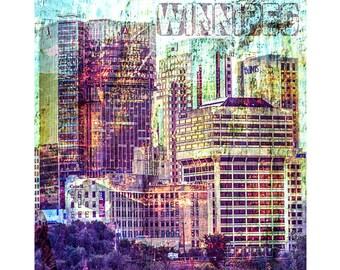 City in Colour - Winnipeg
