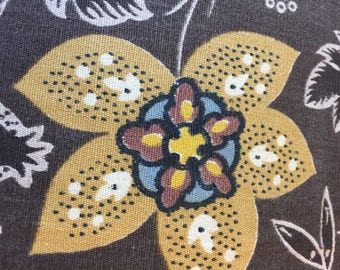 Cotton Sateen 70's Fabric