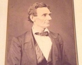 Abraham Lincoln photograph - by Alexander Hessler and George B Ayres