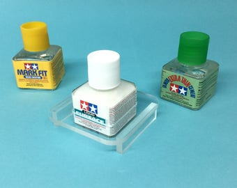 Tamiya Glue or Paint Anti-Spill stand for Square Bottles