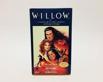 Vintage Fantasy Book Willow Film Novelization 1988 Paperback