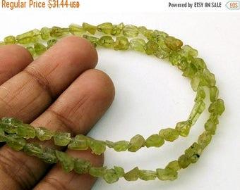 ON SALE 55% 6 Inch Peridot Rough Strand, Natural Peridot Raw Beads, Rough Peridot Gemstones, Loose Peridot Beads, 4-8mm - DS4008