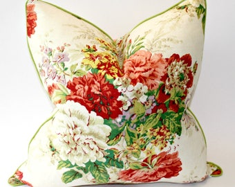 20x20 inch Floral Designer Pillow Cover
