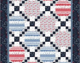 Chained Ovals Quilt ePattern, 5054-2e, lap quilt pattern, lap quilt