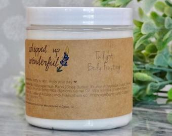 Lavender Body Frosting - Shea Butter Body Butter - Moisturizing Lotion