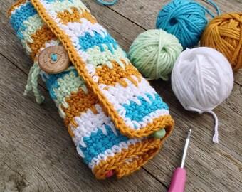 Little Box of Crochet Pattern Booklet-Spike Island Crochet Hook Roll
