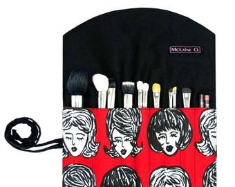 ON SALE The Amy Makeup Brush Roll