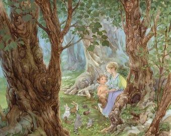Little Shepherd 8.5x11signed Print
