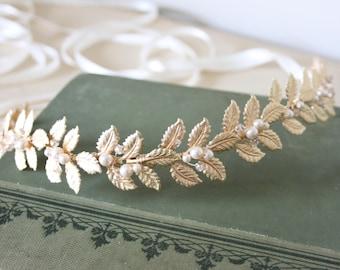 Grecian bridal sash, grecian bridal belt, gold leaf sash, gold leaf bridal belt, bohemian sash, wedding sash