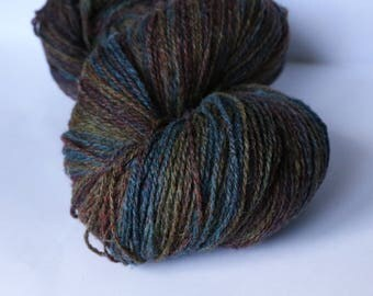 KAUNI Undyed Wool Yarn, Worsted Weight 8/2  2ply, 100% wool
