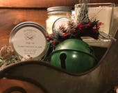 Fir / Balsam / Pine / Berries Holiday Candle | Christmas Scent | Woodsy Candle | Pine | Earthy Candle | Soy Candle | | Sleigh Ride Scent
