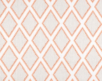 Kravet Brookhaven in Coral Fabric -  4 Yards Available - One Continuous Piece