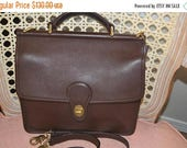 June Savings Vintage Coach~Coach Bag~ Coach Willis  9927~ Brown  Excellent Condition Brass Hardware Fits Ipad Perfect