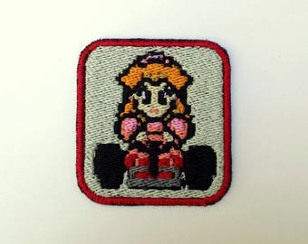 Princess Peach SNES Mario Kart Patch