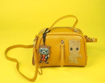 Limited Edition Guardians of the Galaxy Groot and Rocket Raccoon Inspired Purse