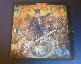 Sale ! Elton John Captain Fantastic And The Brown Dirt Cowboy Vinyl Record LP MCA-2142 (2) Record Set  MCA Records 1975