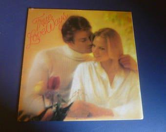 "True Love Ways Vinyl Record LP 1P 7216 ""Sealed""  Columbia Records 1981"
