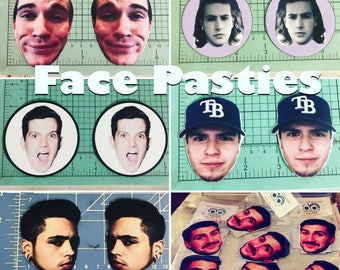 Face Pasties and body stickers