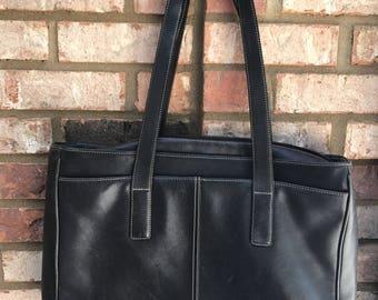 Vintage Large COACH Tote Bag