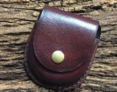 Leather Pocket Watch Cases - Plain Case - Made to Order - Handcrafted