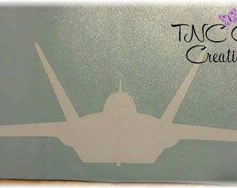 Custom Vinyl decal F-22