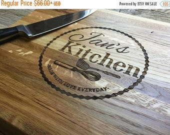 ON SALE Personalized Chopping Block, 12x15, Engraved Chopping Block, Wedding Gift, Anniversary Gift, Housewarming Gift