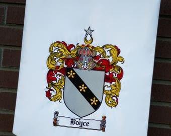 Family Crest Banner