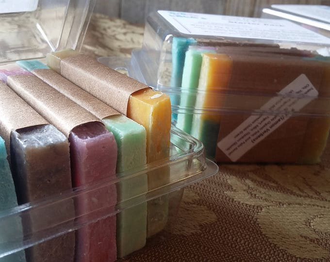 Starter Pack Soap Goddess Special Edition Handmade Barely-Scented Soaps