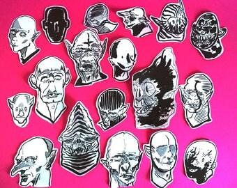 Vampires Stickers
