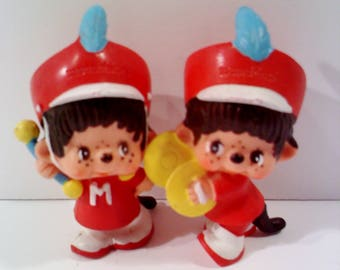 Monchichi PVC Figurines, Marching Band