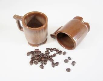 Vintage ESPRESSO Cups FRANKOMA Cups Set of 2