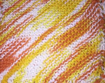 Cotton Dishcloth varigated