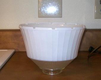 Vintage Stiffel/Rembrandt Glass Shade Diffuser-Large