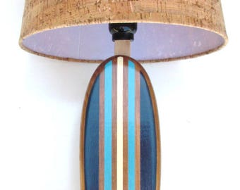 Custom for thesleen Surfboard Lamp and Matching Mini Shelf