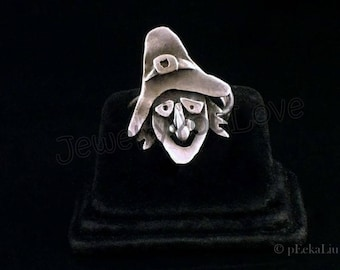 Sterling Silver Witch Ring - Maggie