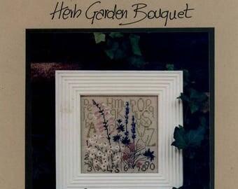 Cedar Hill: Herb Garden Bouquet - Cross Stitch Pattern