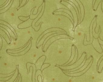 Lollipop by Sandy Gervais for Moda Fabrics, 17552-17 Bananas on Green