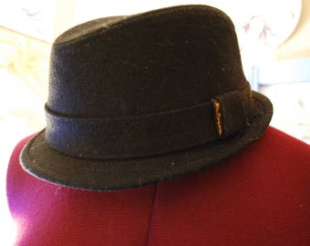 black, hat, fedora, vintage, original, sale, rare