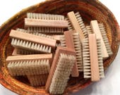 Natural Nail Brush for Cleaning Hands and Nails - Great for Gardeners - Double Sided - Manicure Brush - Spa Accessories
