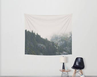 mountains photograph Lake Tahoe tapestry mountains tapestry Lake Tahoe photograph wilderness tapestry boho wall art home decor